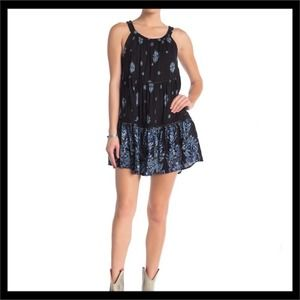 Intimately Free People Talk to Me Trapeze Dress